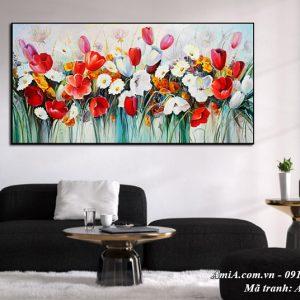 Tranh hoa một tấm treo tường nghệ thuật