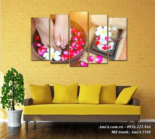 Tranh spa đẹp treo tường chất lượng cao AmiA 1508