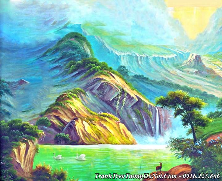 Ý nghĩa của bức tranh sơn thủy đại diện cho tính cách người quân tử