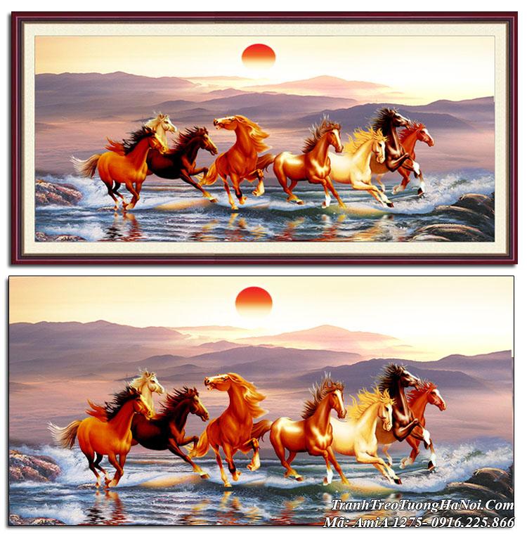 Tranh ngựa treo tường amia 1275