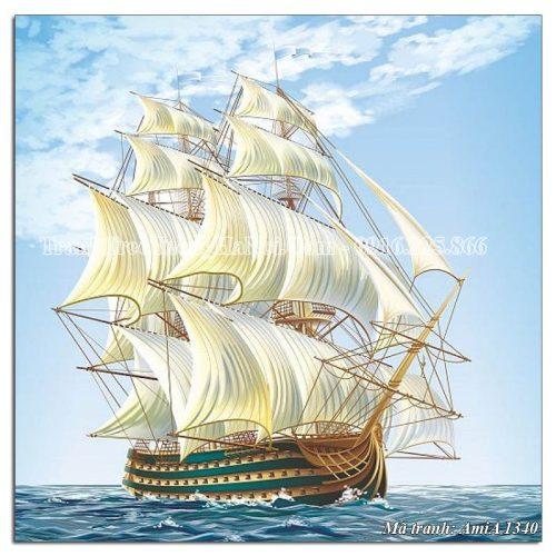 Tranh thuận buồm xuôi gió Amia 1340