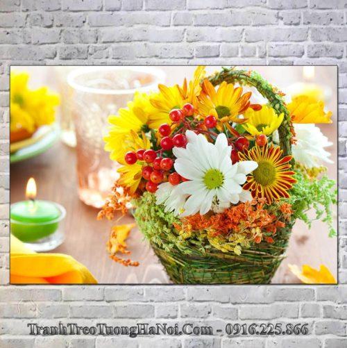 Tranh spa gia re gio hoa mot tam
