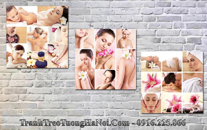 Tranh treo tường spa các cô gái đẹp