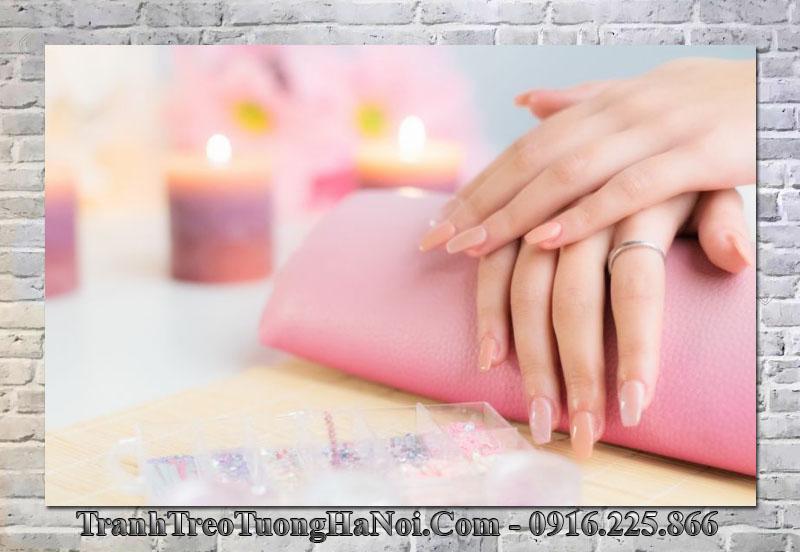Tranh đẹp treo trang trí nail spa