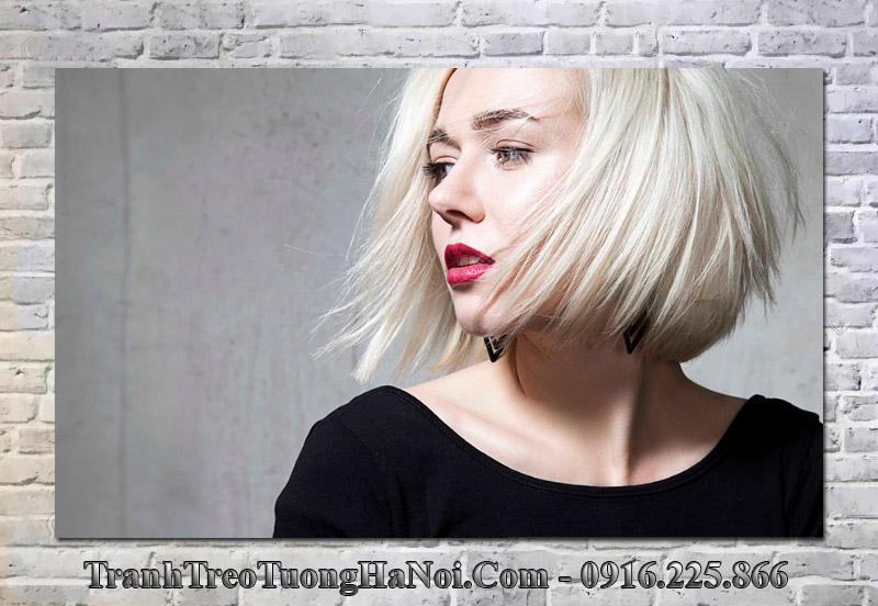 Tranh mẫu tóc đẹp treo tường salon tóc spa