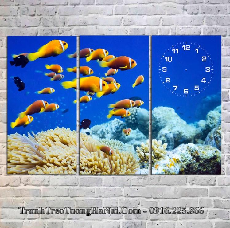Tranh biển xanh hợp mệnh Thủy 1952, 1953