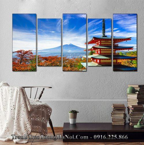 Tranh treo tường phong cảnh nhật bản