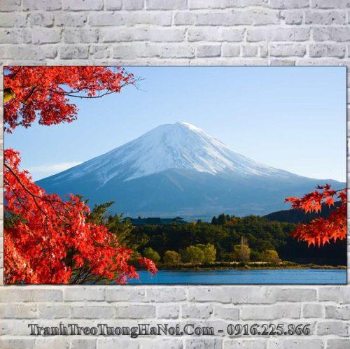 Tranh đẹp treo tường núi Phú Sỹ