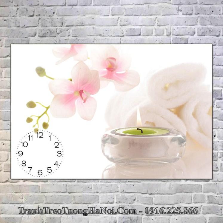 Tranh spa gia re hoa nen trang