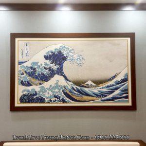 Tranh cổ Nhật Bản treo tường AMiA 1546