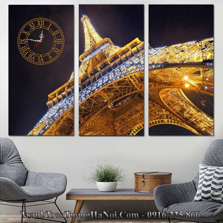 Tranh tháp Eiffel thuộc hành Kim Hỏa hợp tuổi Canh Thìn 2000, Tân Tỵ 2001