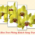 15 mau tranh hoa treo tuong phong khach sang trong nhat