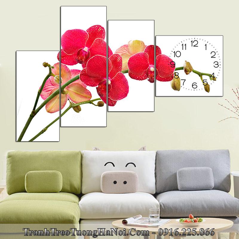 Tranh hoa lan do treo tuong khong hop tuoi dinh suu 1997