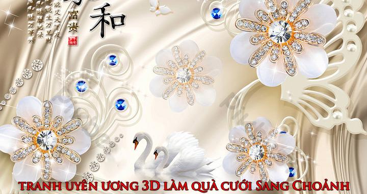 Tranh uyen uong 3D lam qua cuoi cuc ky sang choanh