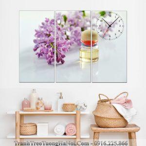 Dong ho tranh spa tinh dau hoa tim AmiA SP101-pix3868596