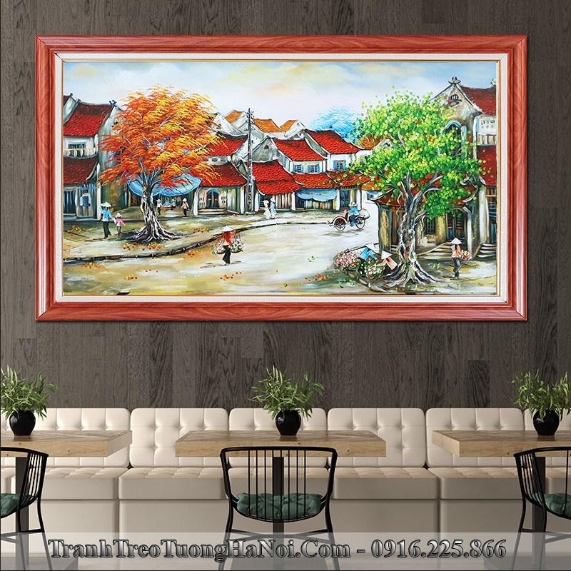 Khai truong quan cafe tang tranh pho co tsd 513 dep va y nghia