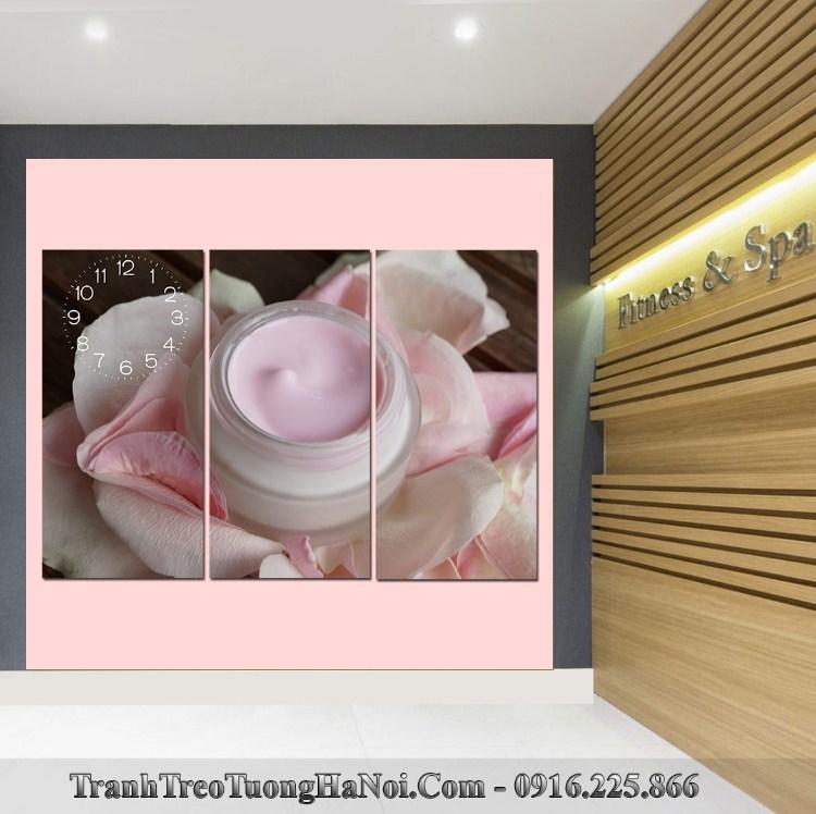 Tranh dong ho spa treo tuong hop kem my pham SP96-pix4365139