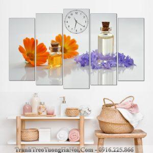 Tranh ghep spa 5 tam tinh dau hoa cuc cam