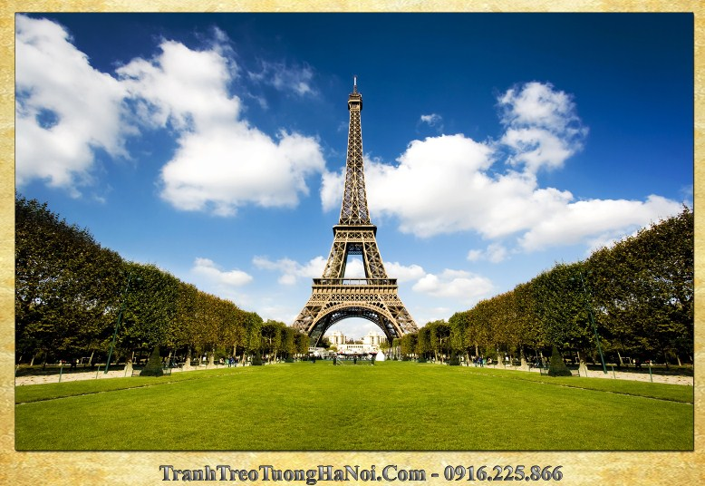 Tranh toan canh thap Eiffel rat duoc yeu thich amia 1008