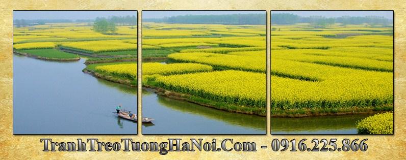 Tranh canh dep dong lua chin 3 tam vuong AmiA 3073