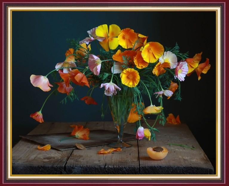 Tranh dep treo tuong lo hoa tang tan gia AmiA BH112
