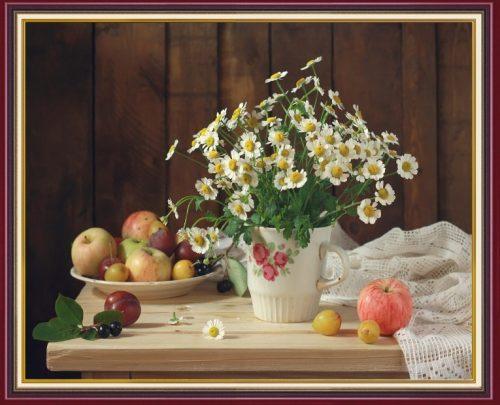 Tranh treo tuong binh hoa cuc hoa mi AmiA BH115
