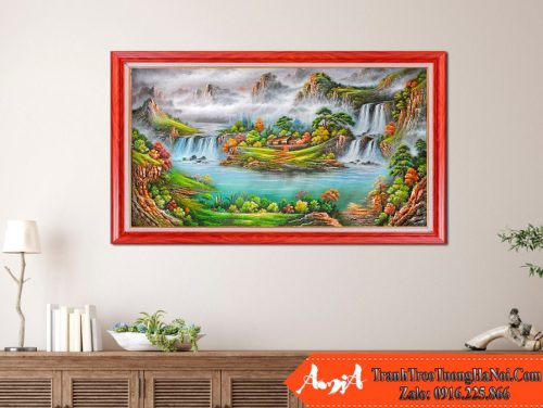 Tranh phong thuy son thuy trung quoc amia 542