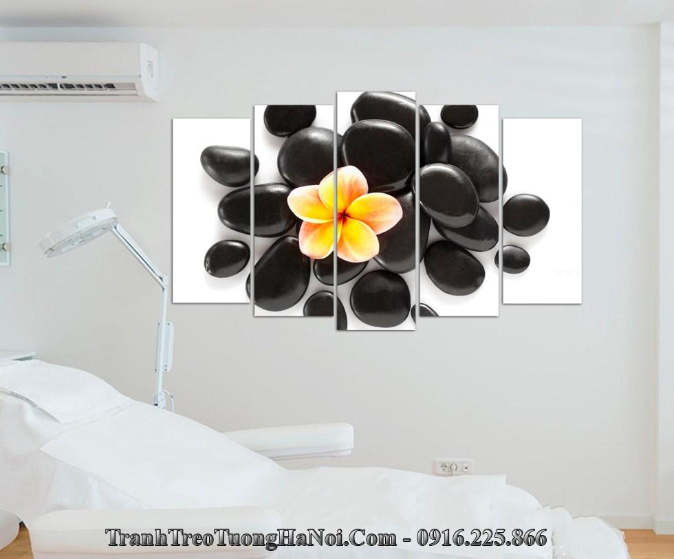 Tranh spa hoa da thu gian treo tuong amia sp181