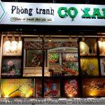 Cua hang tranh co xanh o thanh pho Dong Ha Quang Tri