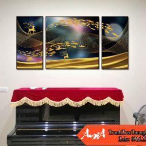 Tranh canvas amia cv115 treo tuong hien dai