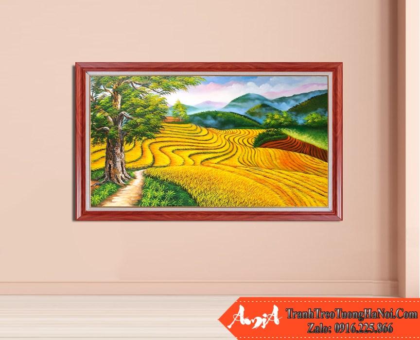 Tranh dong que lua chin mua mang boi thu amia tsd 528