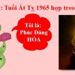 Tranh hop tuoi at ty 1965 treo tuong