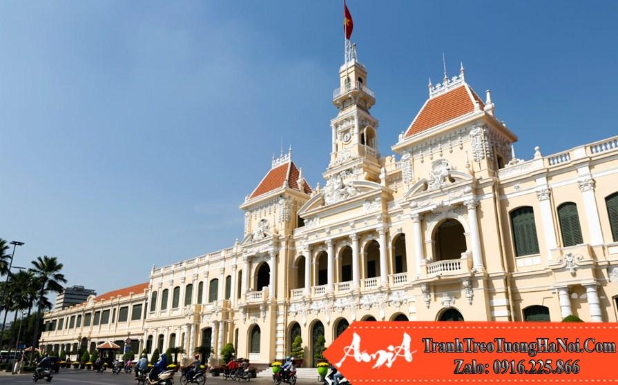 hình ảnh đẹp tòa ủy ban nhân dân thành phố sài gòn