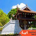 phong cảnh đẹp của chùa một cột hà nội