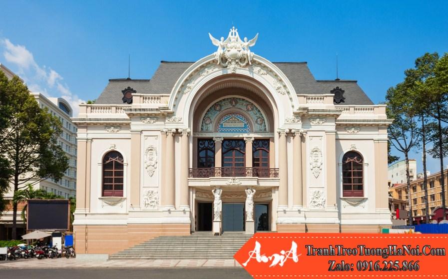 phong cảnh đẹp sài gòn nhà hát thành phố