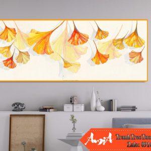 Tranh treo phong ngu hoa cam canvas amia cv423