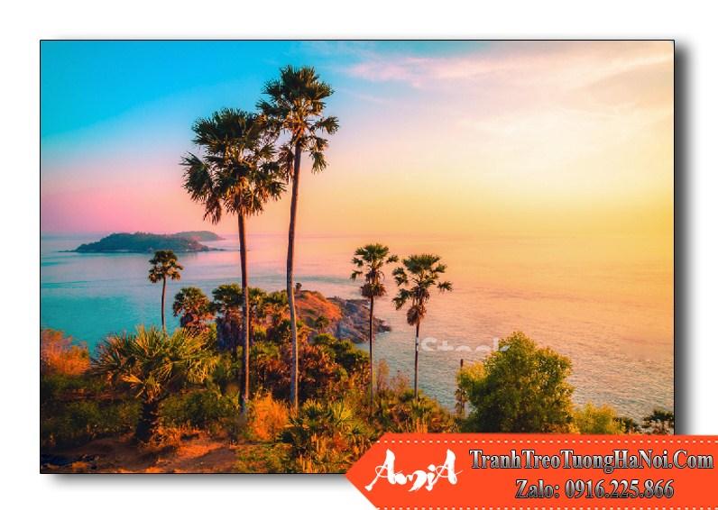 buc tranh phong canh dep phu ket thai lan