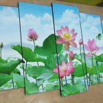 Top 100 buc tranh hoa sen treo tuong dep nhat