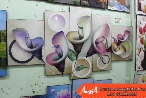 Tranh treo tuong amia 411 tai cua hang tranh amia
