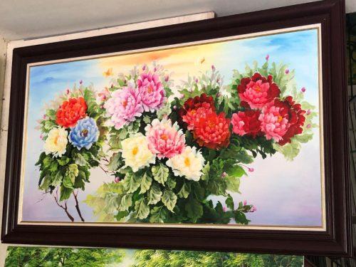 Tranh treo tuong hoa mau don kho lon y nghia tsd 549