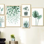 Nhung buc tranh canvas tropical treo tuong nhiet doi dep nhat