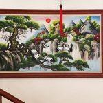 Top 10 tranh tung hac dien nien treo tuong chuc tho y nghia