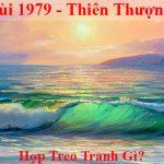 Tuoi Ky Mui 1979 hop treo tranh gi menh gi theo phong thuy amia